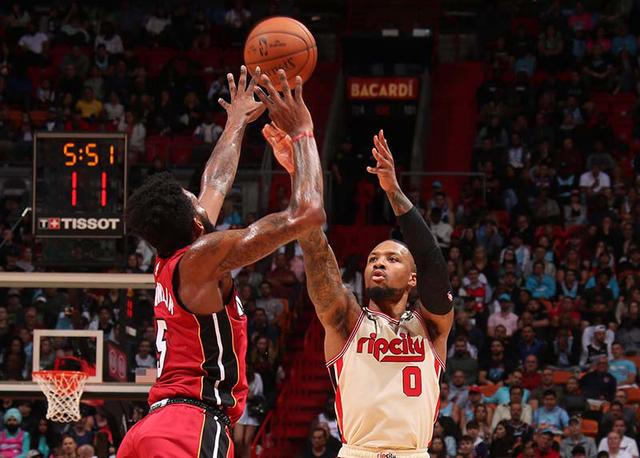 Miami Heat 122-111 Portland Trail Blazers