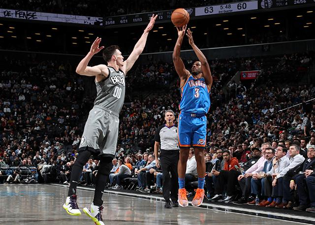 Oklahoma City Thunder 111-103 Brooklyn Nets