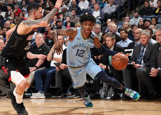 Memphis Grizzlies 121-110 Houston Rockets