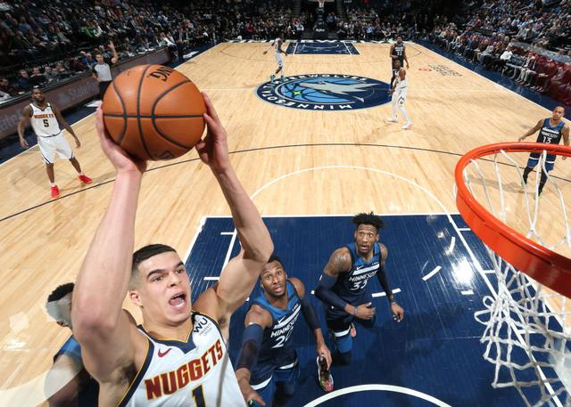 Denver Nuggets 107-100 Minnesota Timberwolves